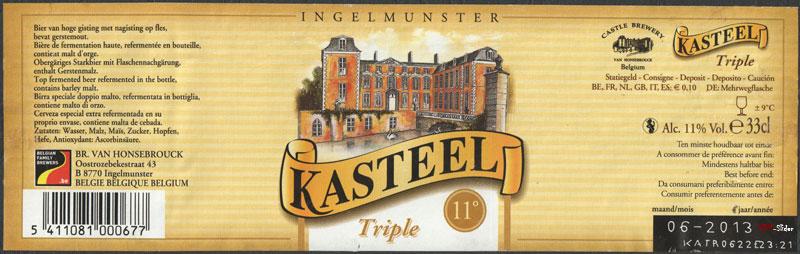 Kasteel Triple - 11 Belgium