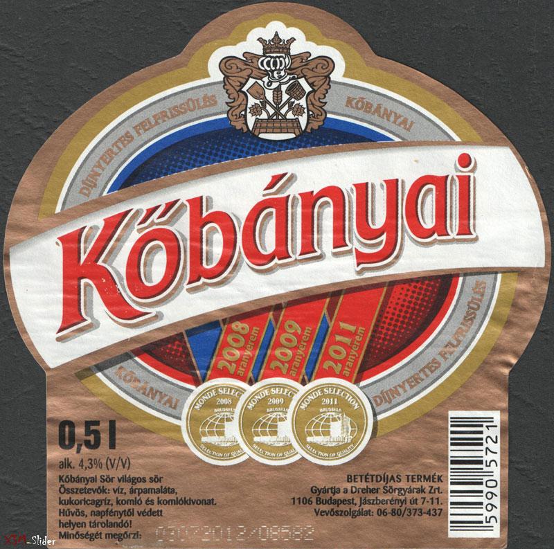 Kobanyai beer