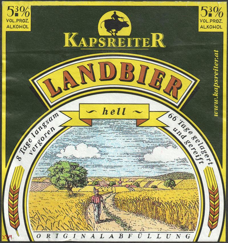Landbier - Hell - Kapsreiter