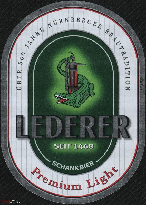 Lederer - Premium Light - Schankbier
