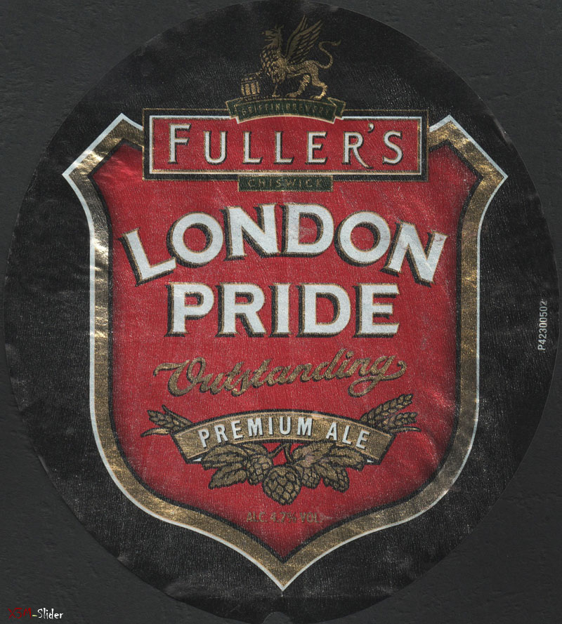 London Pride - Outstanding - Premium Ale - Fullers