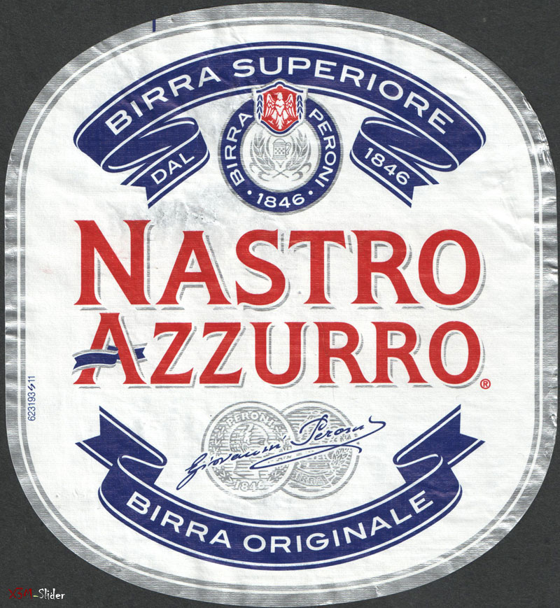 Nastro Azzurro - Birra Peroni - Birra Superiore