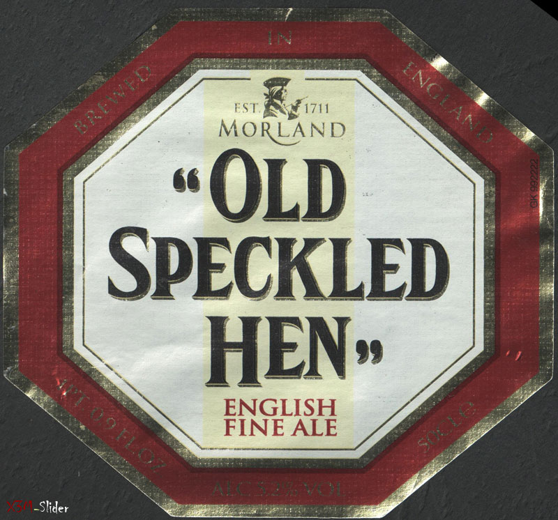 Old Speckled Hen - English Fine Ale - Morland