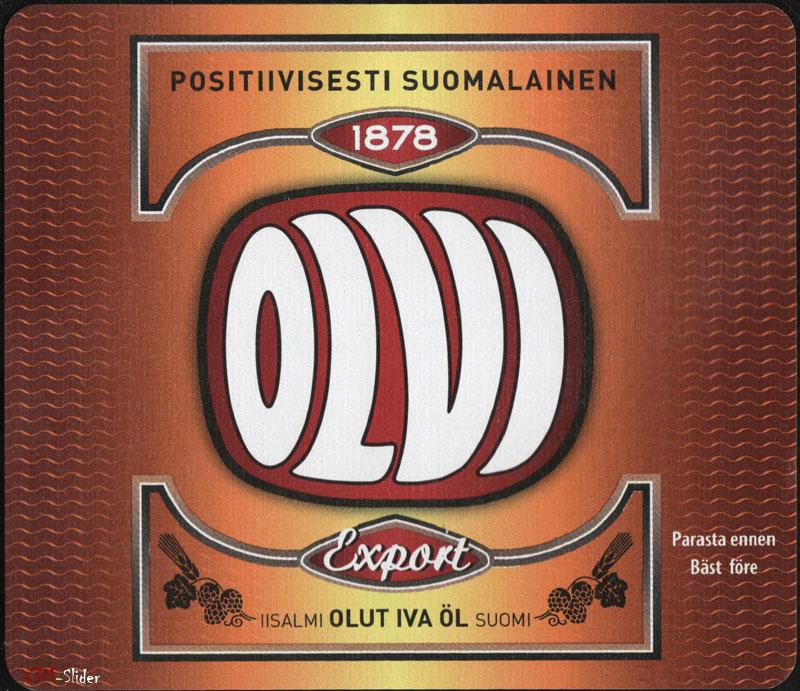 Olvi - Export - Positiivisesti Suomalainen
