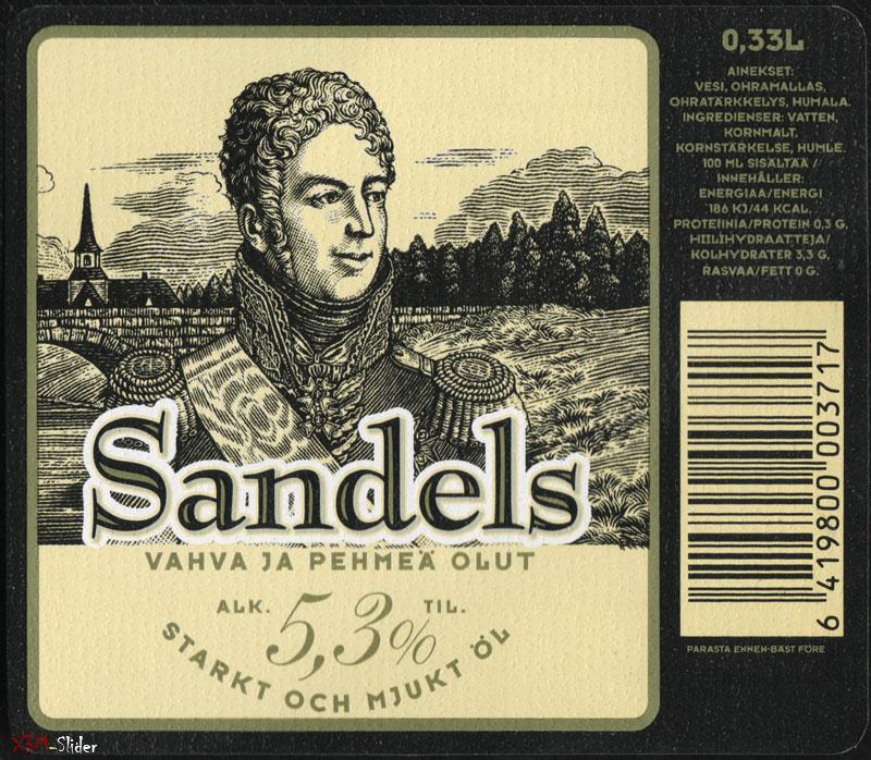 Sandels - Vahva ja pehmea olut
