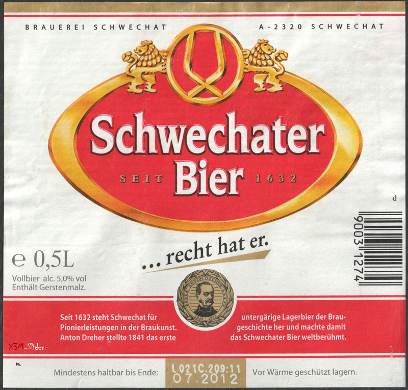 Schwechater Bier - Schwechater (Brau Union)