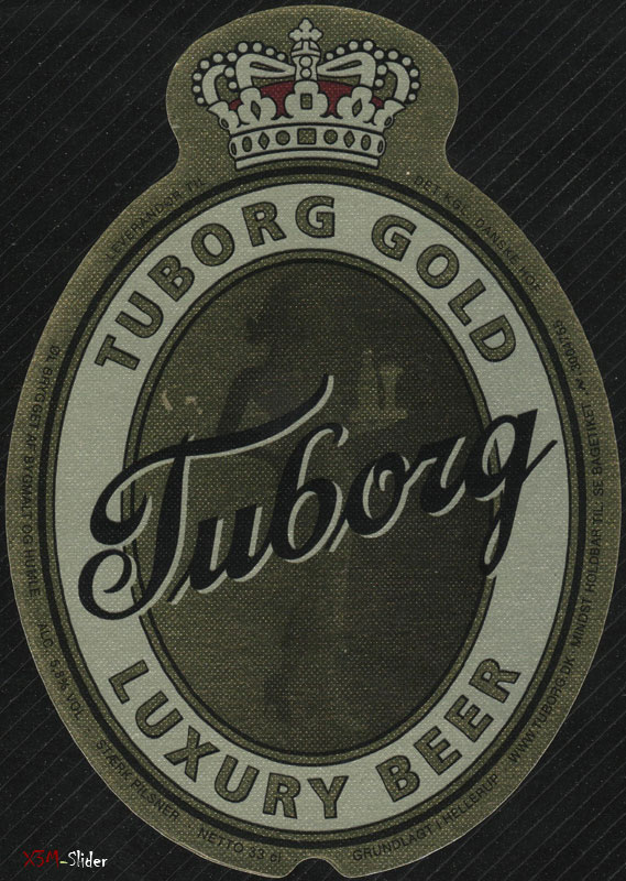 Tuborg Gold - Luxury beer