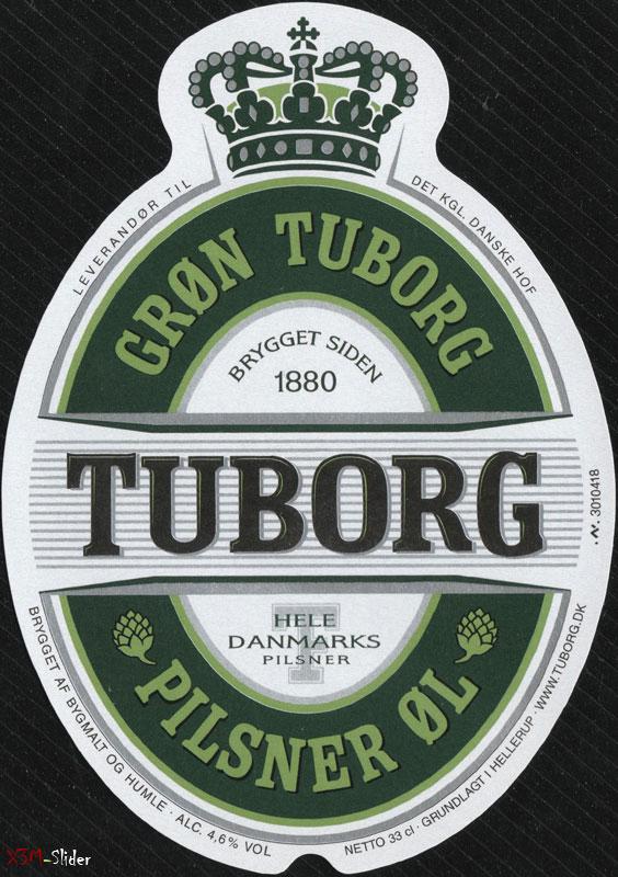 Tuborg Gron - Pilsner Ol