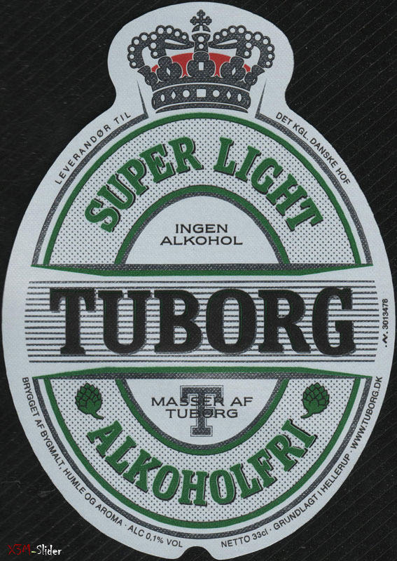 Tuborg - Super Light - Alkoholfrei