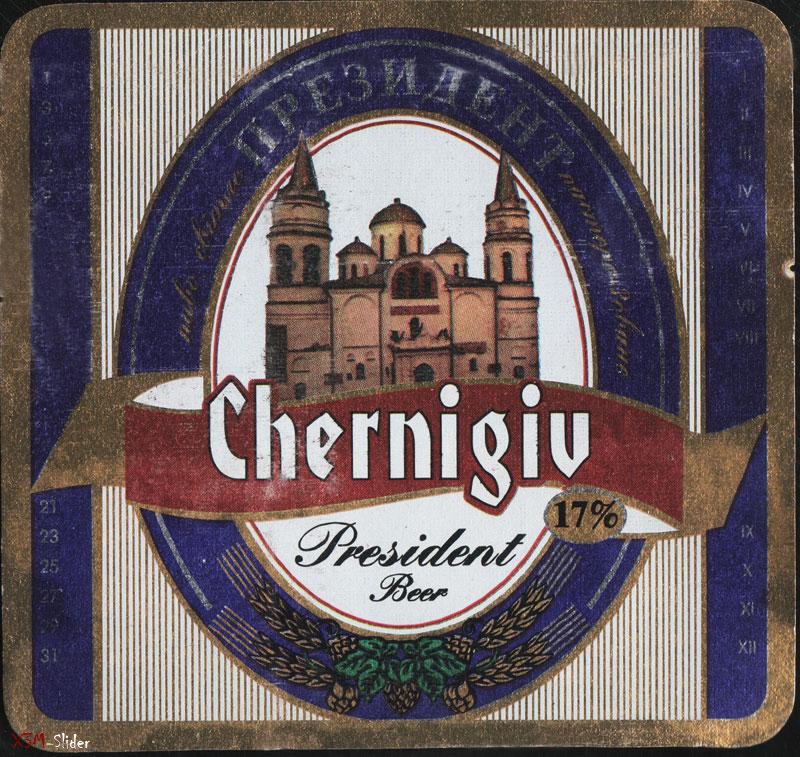 Chernigiv - President beer - Президент