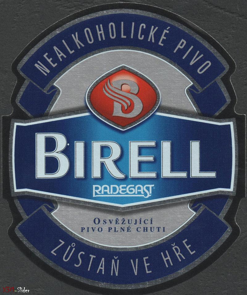 Birell - Nealkoholicke Pivo - Radegast - Zustan ve Hre