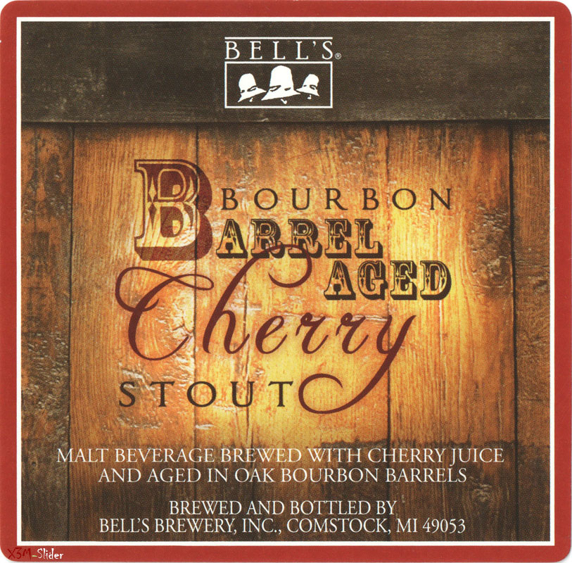 Bourbon Barrel Aged Cherry Stout - Bells