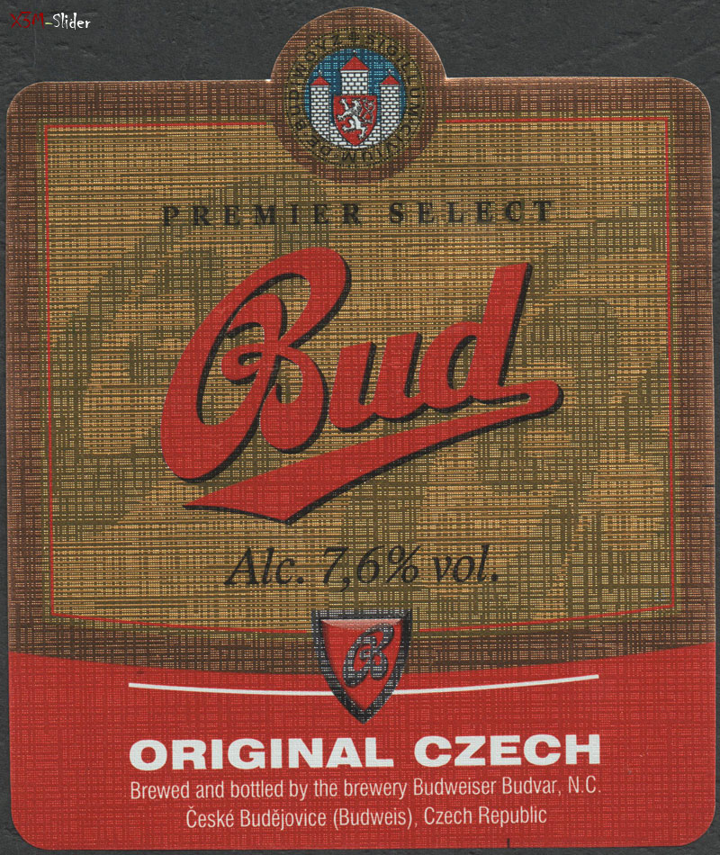 Bud - Original Czech - Alc. 7,6%