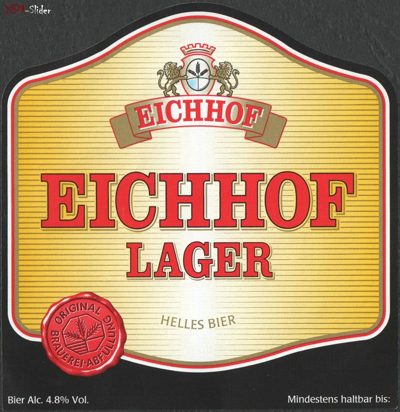 Eichhof Lager - Helles Bier
