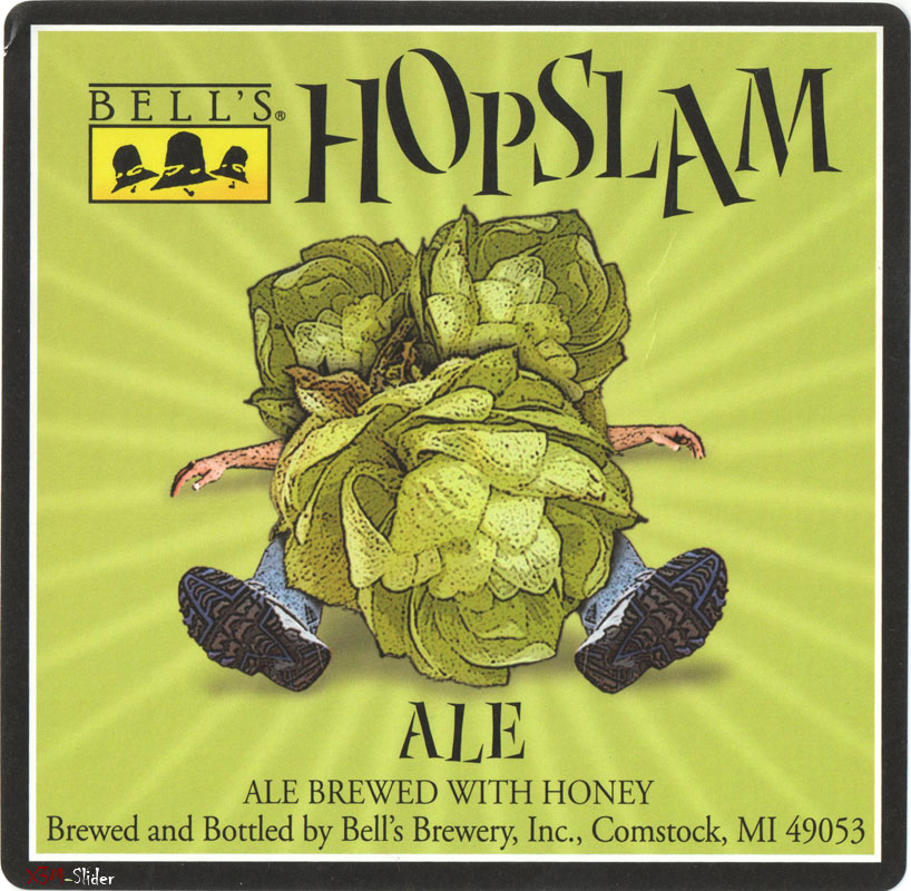 Hopslam Ale - Ale brewed with honey - Bells