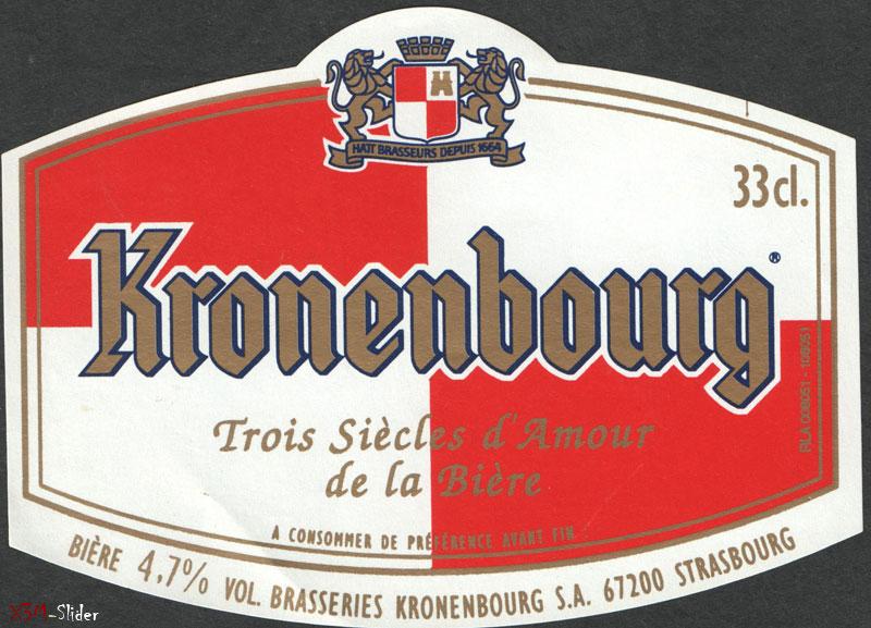 Kronenbourg 33 cl - Hait Brasseurs depuis 1664