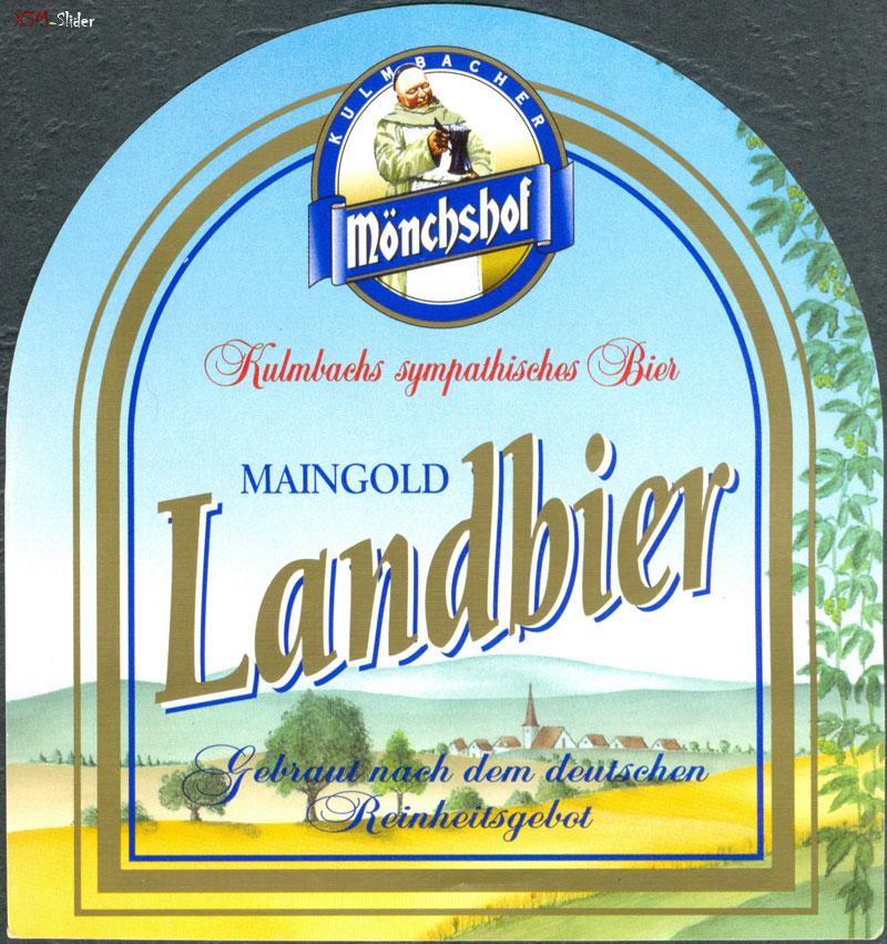 Kulmbacher Monchshof - Landbier Maingold