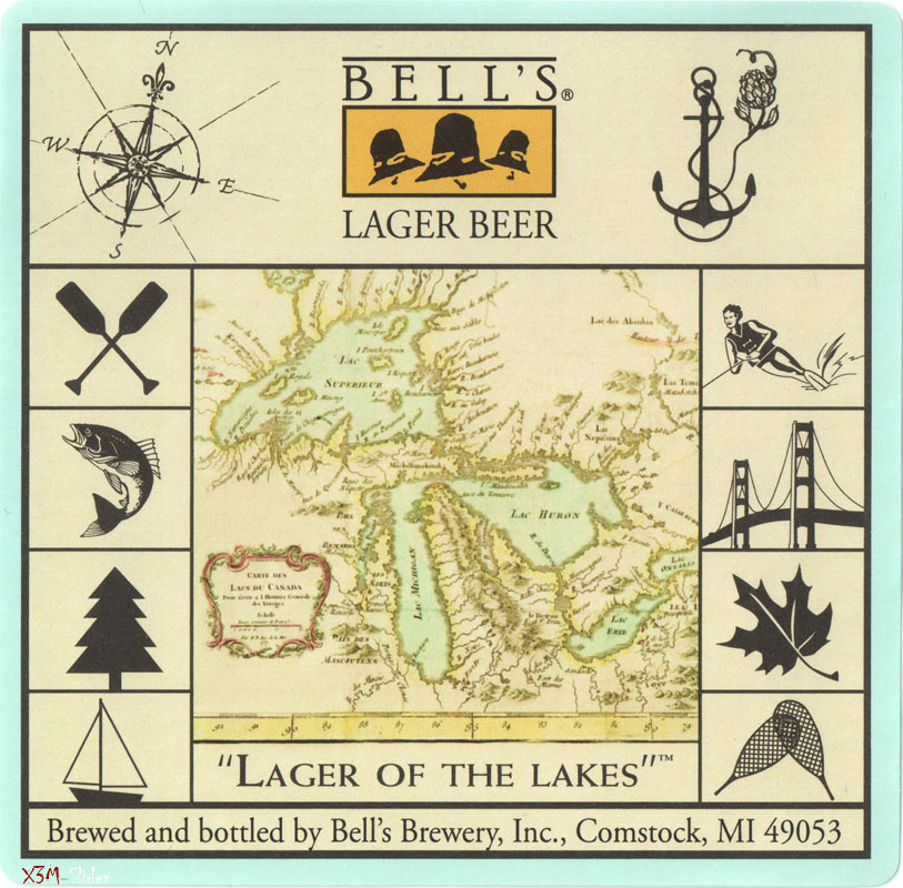 Lager of the lakes - Lager beer - Bells