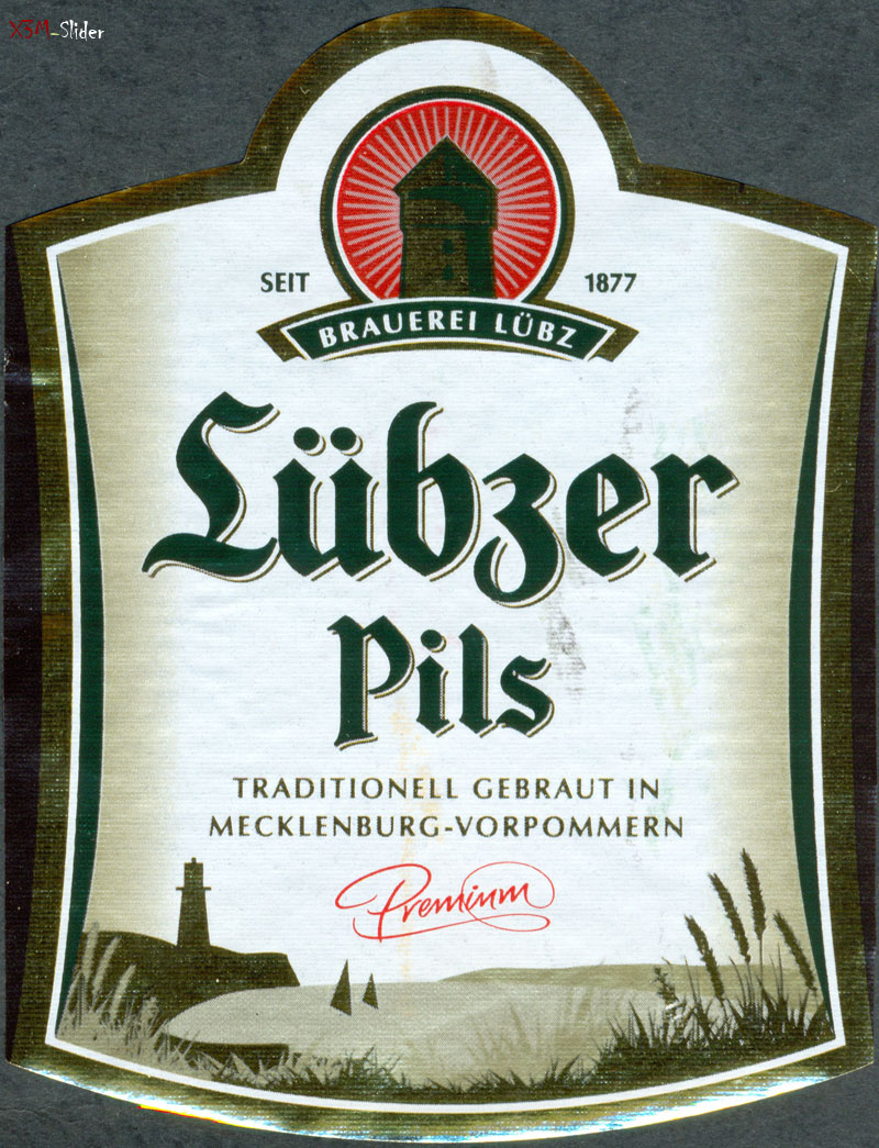 Lubzer Pils Premium - Mecklenburgische Brauerei Lubz