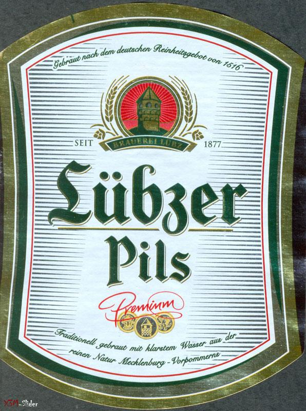Lubzer Premium Pils - Brauerei Lubz