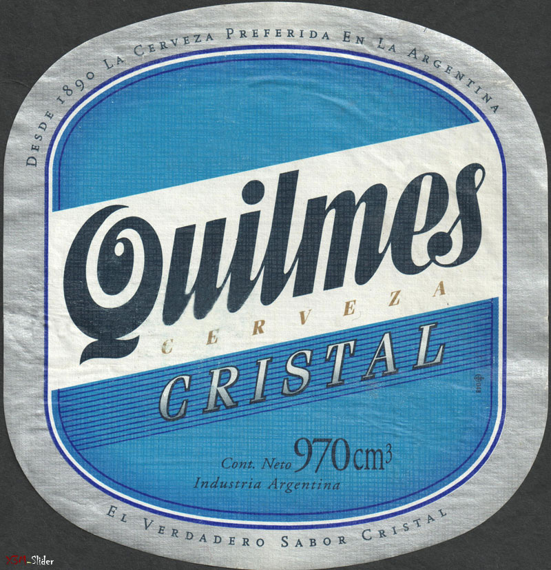 Quilmes Cristal 970 cm3 - Cerveza