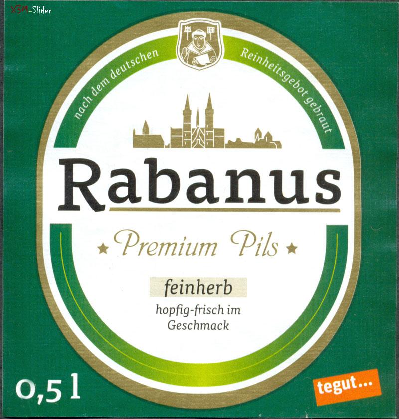 Rabanus Premium Pils - Feinherb