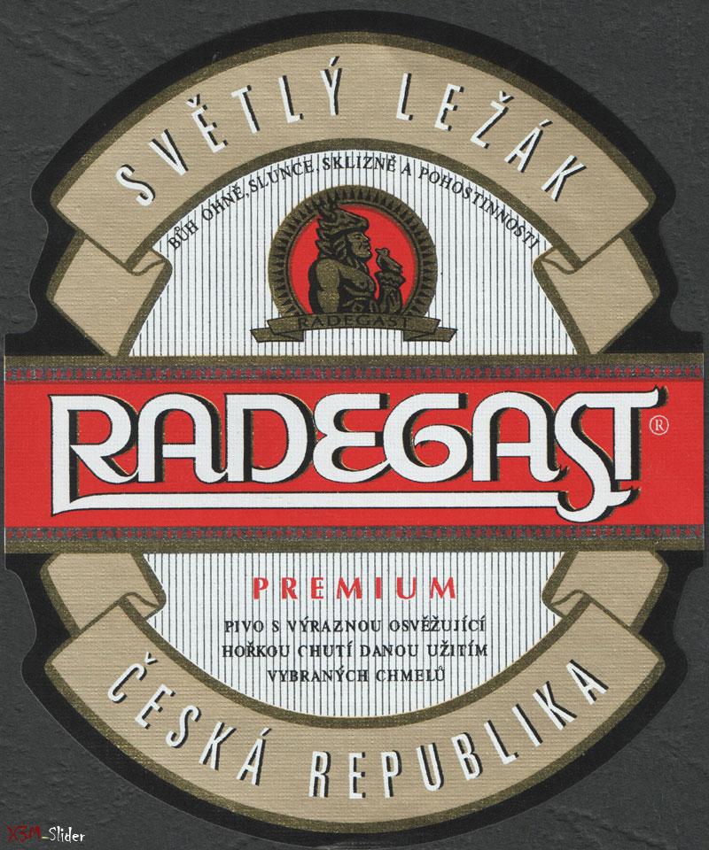 Radegast - Premium - Svetly Lezak - Ceska Republika