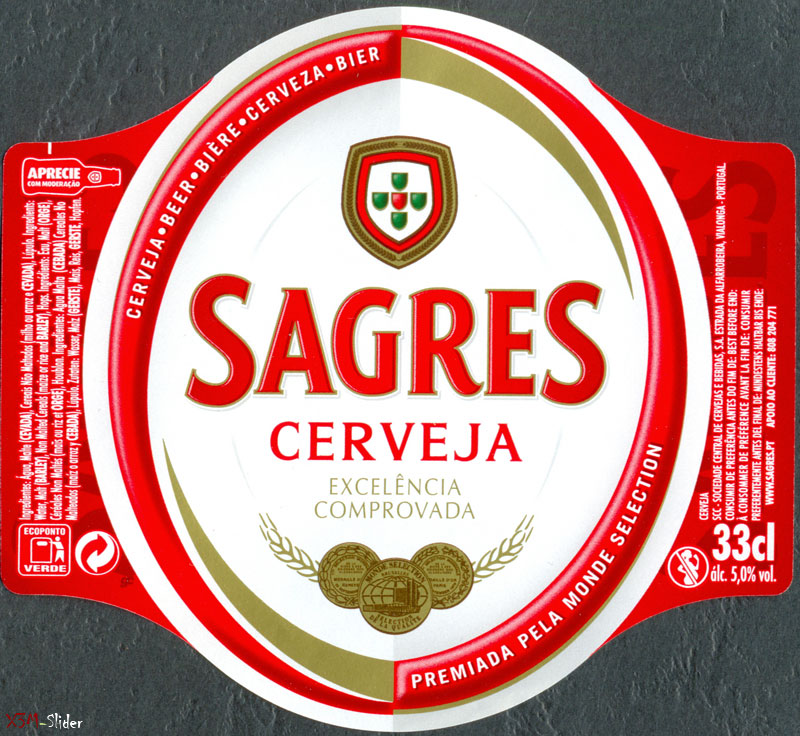 Sagres Cerveja 33 cl - Excelencia Comprovada