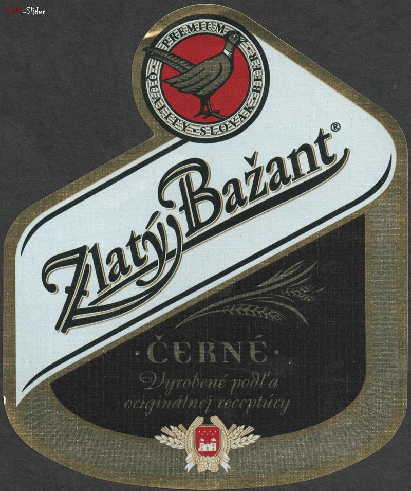 Zlaty Bazant - Cerne