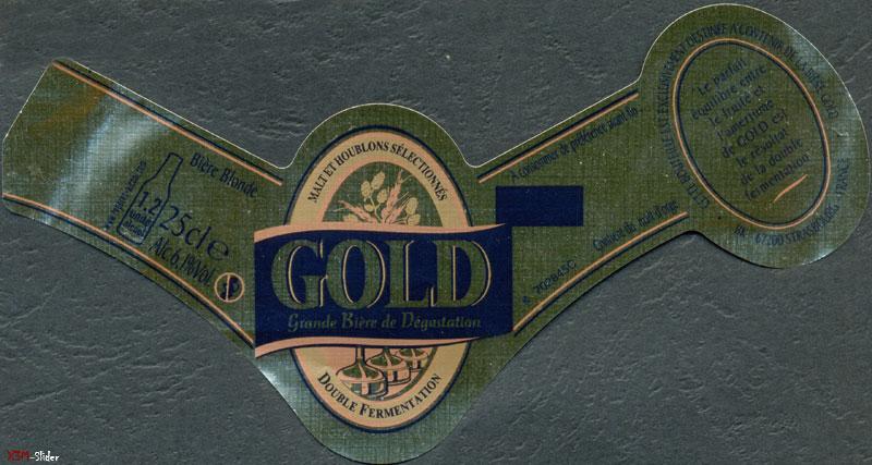 Gold grande Biere de Degustation