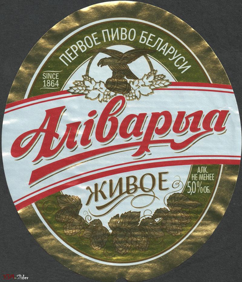 Аліварыя - Живое - Первое пиво Беларуси