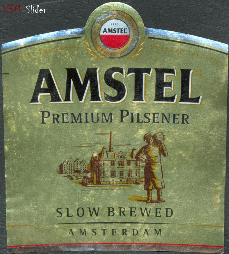 Amstel - Premium Pilsener - Slow Brewed