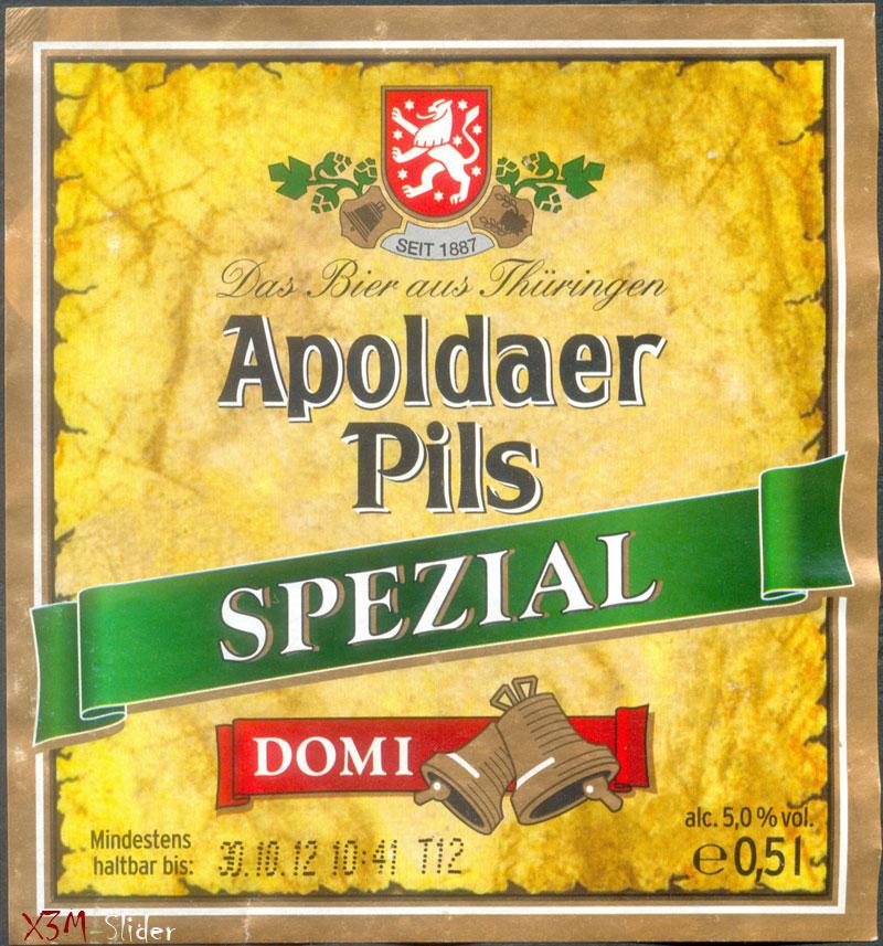 Apoldaer Pils Spezial - Domi