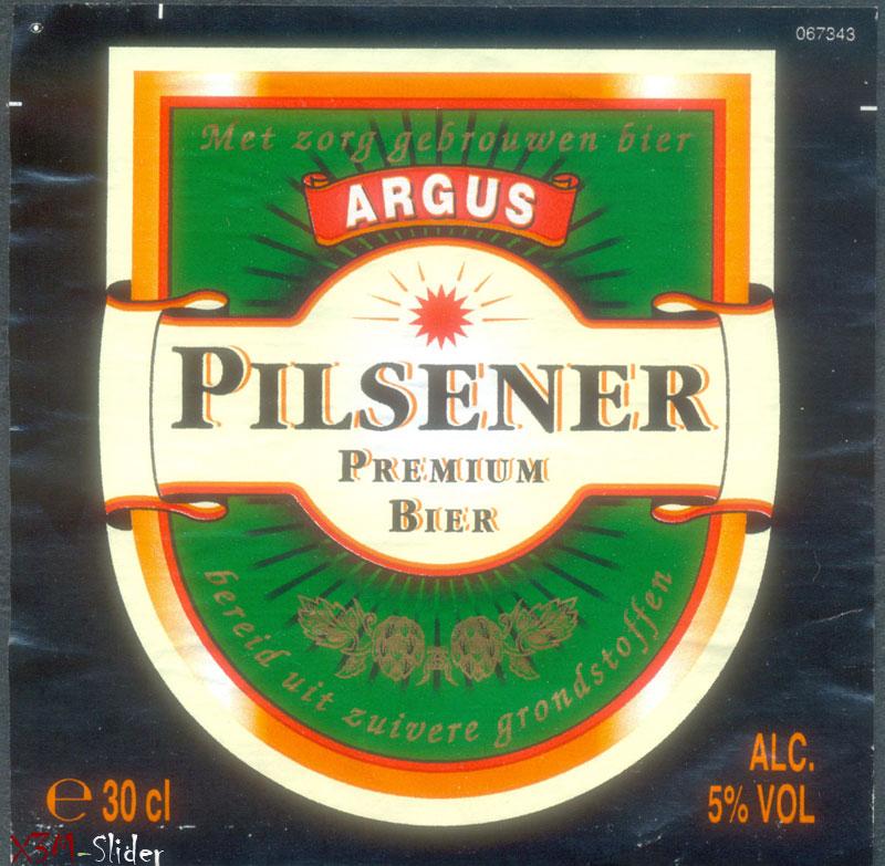 Argus Pilsener Premium bier