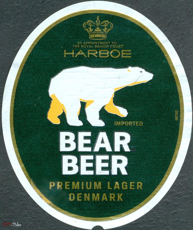 Bear Beer - Premium Lager Denmark - Harboe