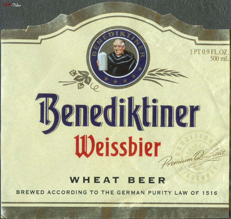Benediktiner - Weissbier - Wheat Beer