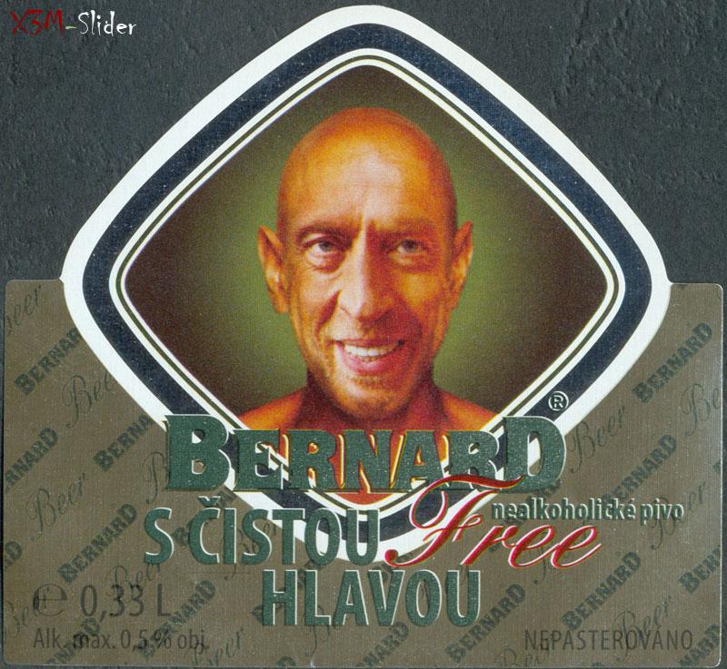 Bernard Free -  S cistou Hlavou - Nealkoholicke pivo - Nepasterovano