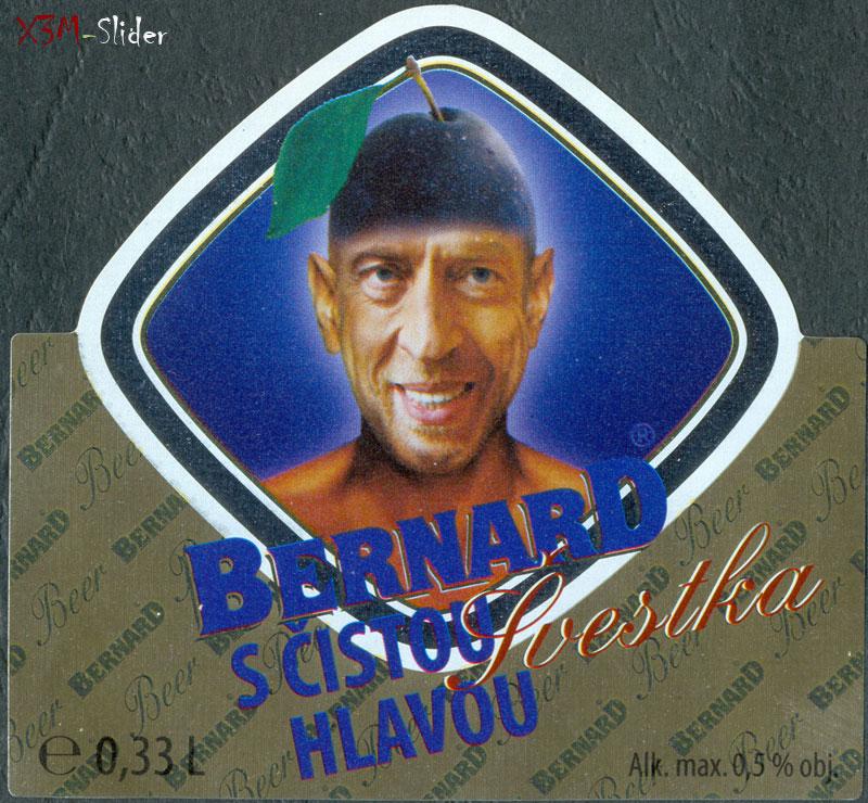 Bernard S Cistou Hlavou - Svestka (Бернард Слива) - 0,33