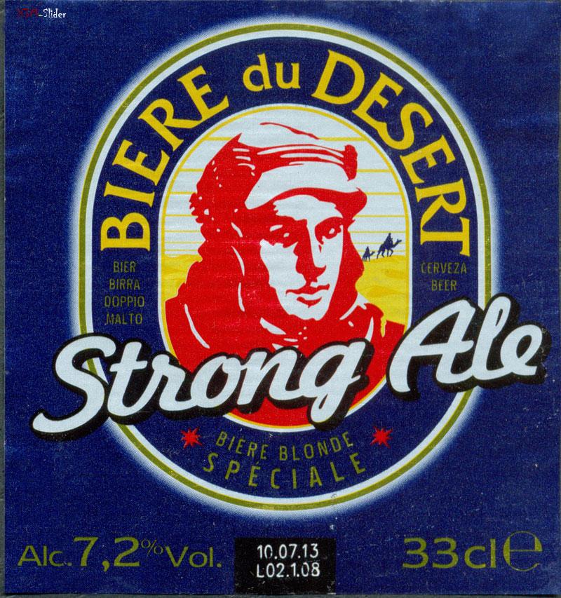 Biere du Desert - Strong Ale -  Les Brasseurs De Gayant