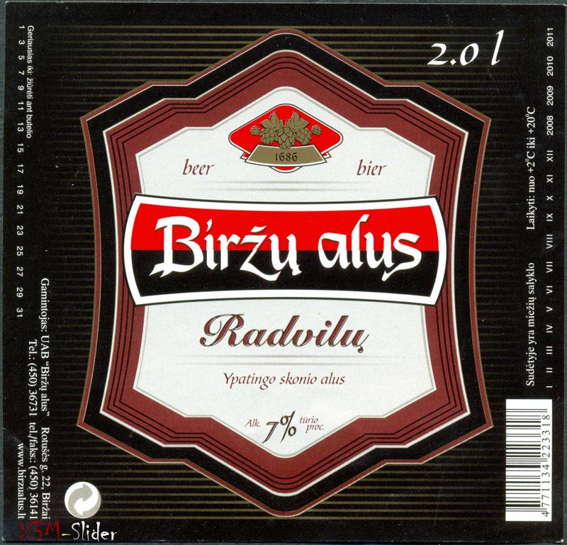 Birzu Alus - Radvilu