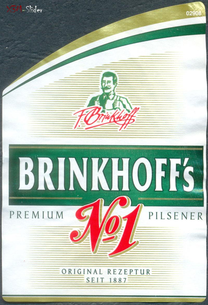 Brinkhoff's No. 1 Premium Pilsener
