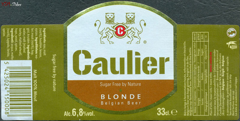 Caulier - Blonde - Belgian Beer