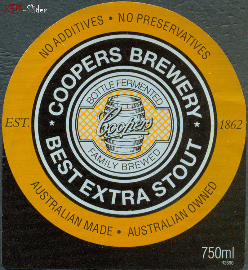 Coopers Best Extra Stout 750 ml