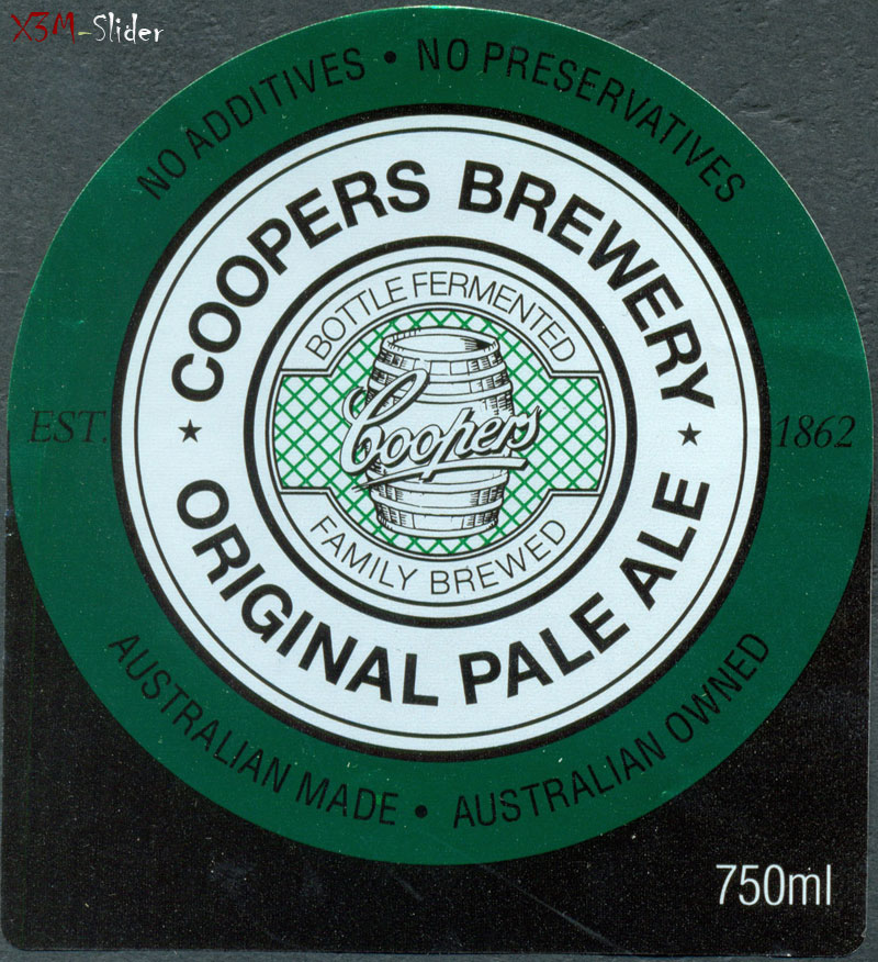 Coopers Original Pale Ale 750 ml