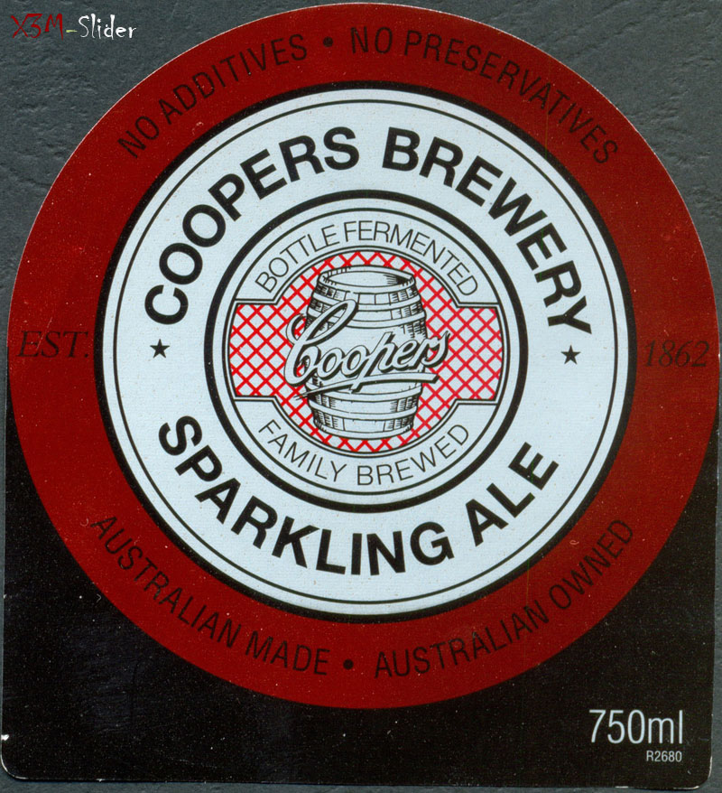 Coopers Sparkling Ale 750 ml