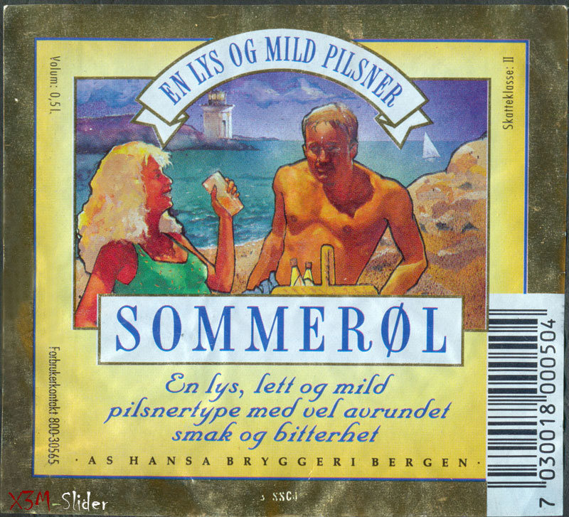Sommerol - Hansa bryggeri