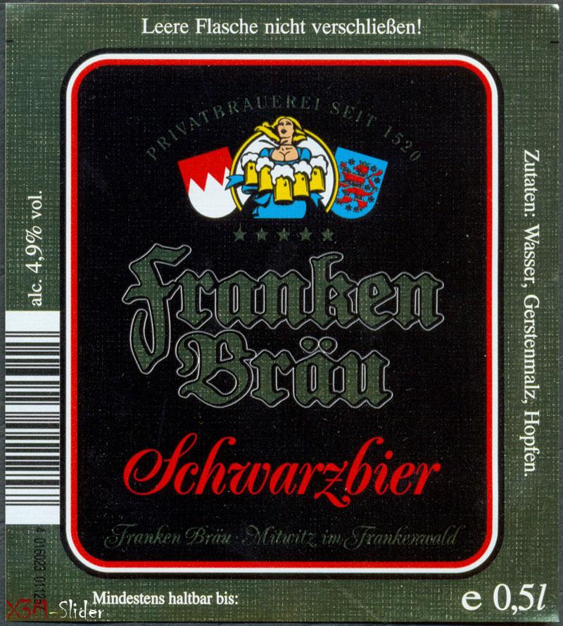 Franken Brau - Schwarzbier