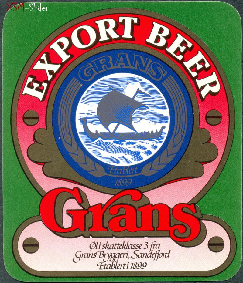 Grans - Export Beer