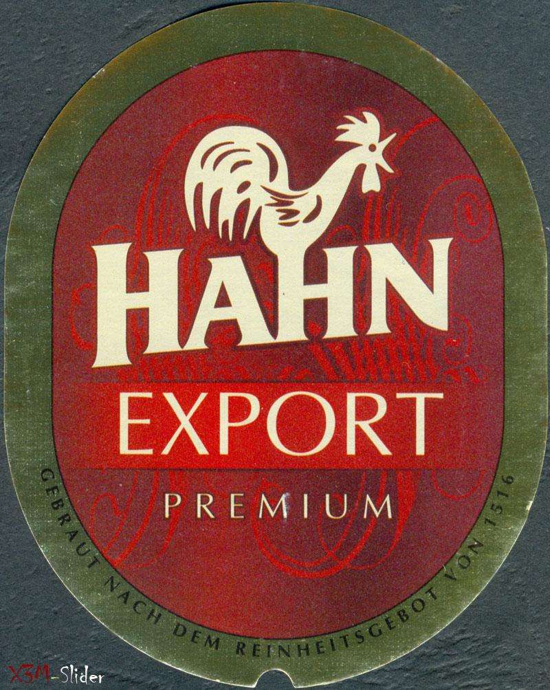 Hahn - Export Premium