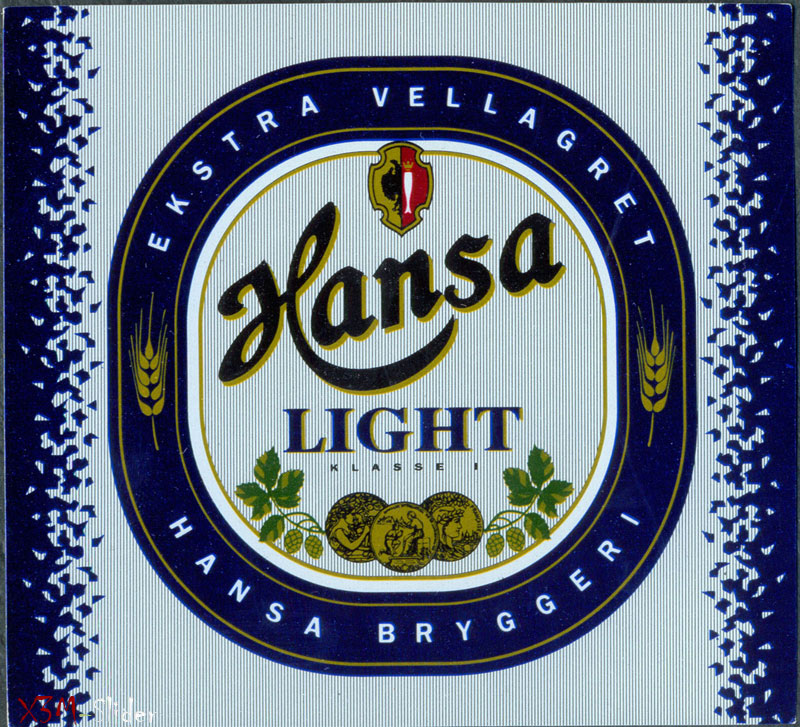 Hansa Light beer